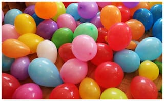 Party Balloons Small pack of 100 pc