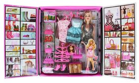 Party Girl Doll and Her Personal Style Wardrobe Set