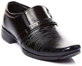 SIM STYLE Black Boys School Shoes