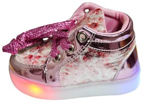 PASSION PETALS Pink Girls Casual Shoes