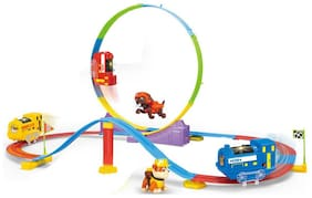 Paw Patrol Adventure Orbital Railway Track Set with Shape Changing Tracks