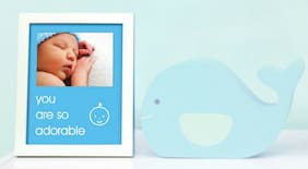 Pearhead - sentiment frame - you are so adorable - blue - 70173