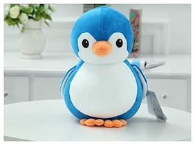 Penguin Soft Toy for Kids Blue Soft Cute Plush Animal Toy