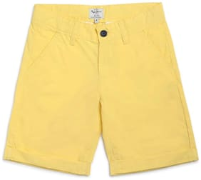Pepe Jeans Boy Solid Shorts & 3/4ths - Yellow