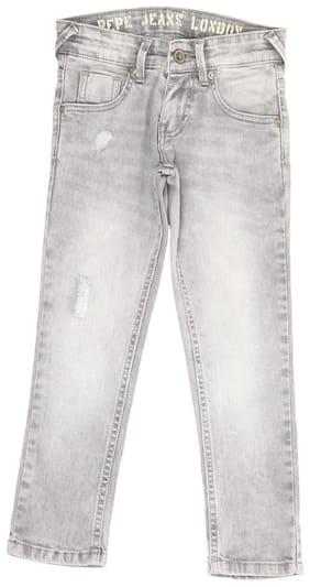 Pepe Jeans Boy's Regular fit Jeans - Grey
