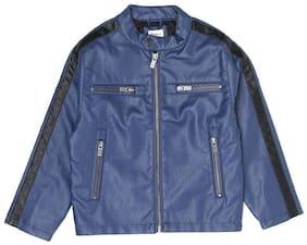 Pepe Jeans Boy Blended Solid Winter jacket - Blue