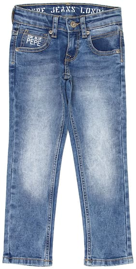 Pepe Jeans Boy's Slim fit Jeans - Blue