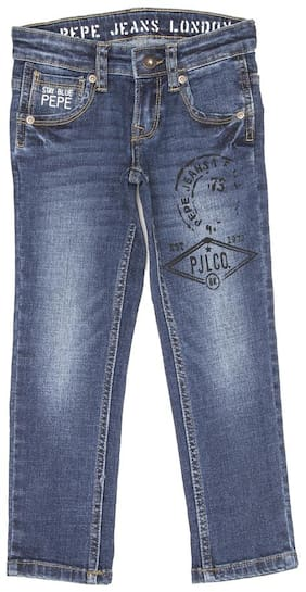 Pepe Jeans Boy's Regular fit Jeans - Blue