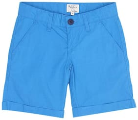 Pepe Jeans Boy Solid Shorts & 3/4ths - Blue