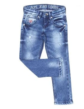 Pepe Jeans Boy Solid Jeans - Blue
