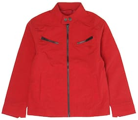 Pepe Jeans Boy Polyester Solid Winter jacket - Red