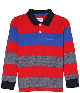 Pepe Jeans Boy Cotton blend Striped T-shirt - Multi