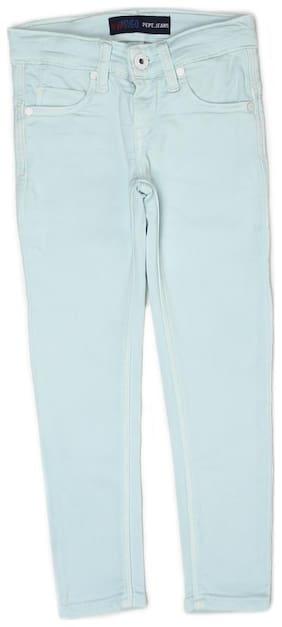 Pepe Jeans Girls Casual Wear Denim Green