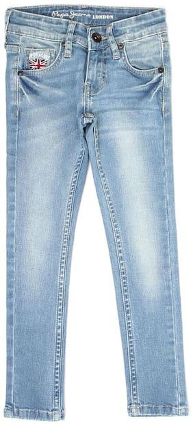 Pepe Jeans Girls Casual Wear Jeans Blue