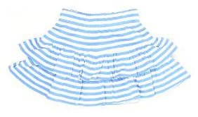 Pepe Jeans Girl Cotton Solid Flared skirt - Blue
