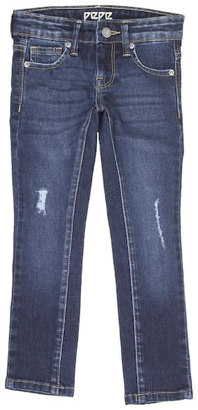 Pepe Jeans Girls Casual Jeans Blue