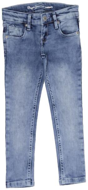 Pepe Jeans Girls Casual Wear Jeans