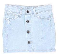 Pepe Jeans Girl Cotton blend Solid Flared skirt - Blue