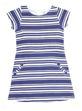 Pepe Jeans Girls Navy Casual Dress