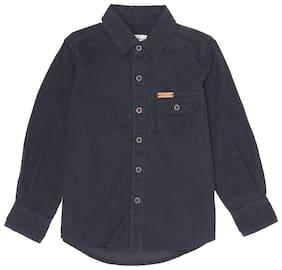 Pepe Jeans Boy Cotton blend Solid Shirt Blue