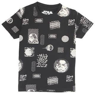 Pepe Jeans Boy Cotton blend Printed T-shirt - Black