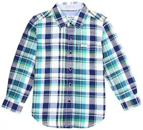 Pepe Jeans Boy Cotton Checked Shirt Multi