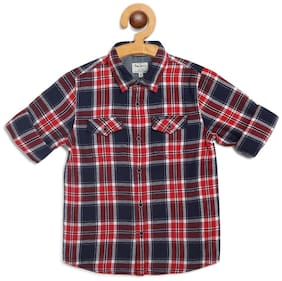Pepe Jeans Boy Cotton Checked Shirt Multi