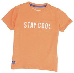 Pepe Jeans Boy Cotton blend Printed T-shirt - Orange