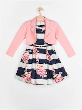 Peppermint Girls Sleeveless Knee Length Dress