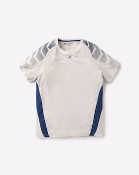 Performax By Reliance Trends White Boys T-Shirts