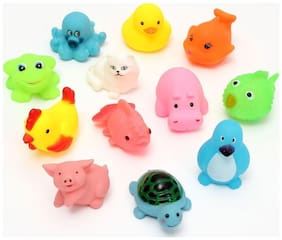 Pic of 14  Chu Chu Bath Toys For Baby Aquatic Animals