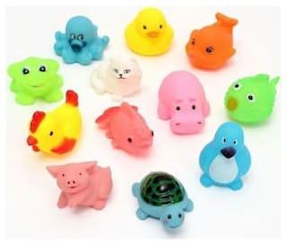 Pic of 14 Chu Chu Bath Toys For Baby Aquatic Animals