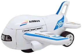 Pikaboo Airbus Deformation Toy Automatic Transformation Into Robot & Airplane Transformer Toy