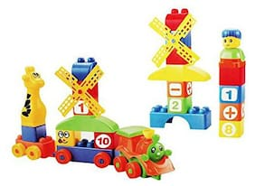 Pikaboo Lego Set For Kids Enhances Creativity And Imagination BuildIng Blocks With Multicolour pcs (40 pcs)