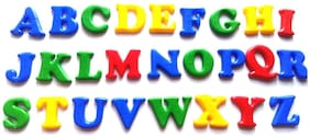Pikaboo Magnetic Letters Upper Case Alphabets For Quick Learning And Easy To Display For Kids