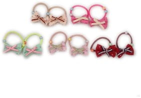 Pikaboo Ponytail Holders Pack Of 5