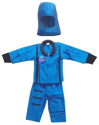 PINK APRICOT Astronaut fancy dress costume(Blue)