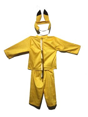 Pink Apricot Pikachu cartoon stage party costume dress