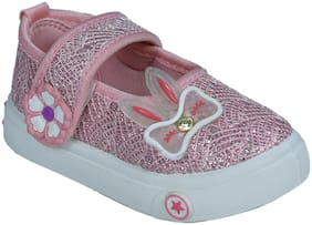 SIM STYLE Pink Ballerinas For Girls