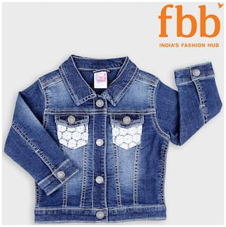 Pink & Blue Baby boy Cotton Solid Winter jacket - Blue
