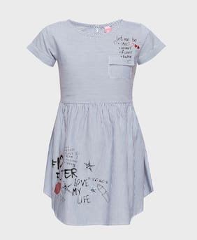 47d692ac4 Pink & Blue Girls Frocks And Dresses Prices | Buy Pink & Blue Girls ...