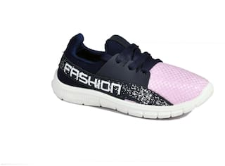 SIM STYLE Pink Girls Sport Shoes