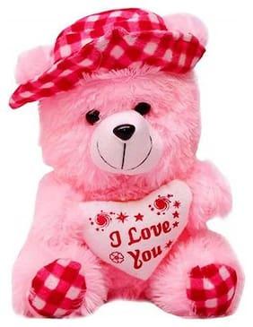Pink Cap Tedd bear 30 cm