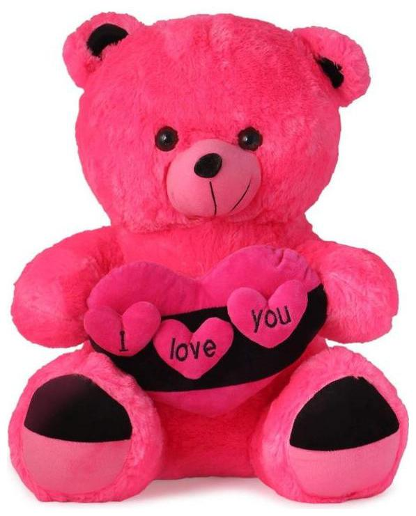 Buy Zyuma Pink Teddy Bear 45 Cm Online At Low Prices In India Paytmmall Com
