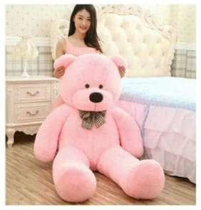 Barbie By Oricum Footwear Pink Teddy Bear - 160 cm