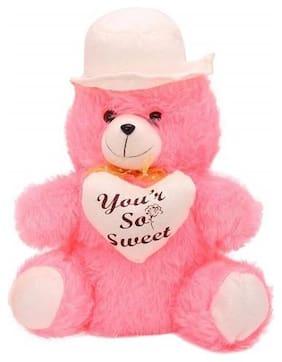 ZYUMA Red Teddy Bear - 30 cm