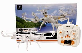 Pioneer Quadcopter With 2.4GHz & 360 Degree Flip Action(No Camera Included)