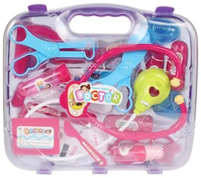 Planet of Toys Multicolour Doctor Play Set With Light 15pcs