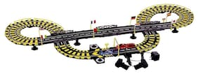 Planet of Toys 14 Feet Long Electronic Race Track With Independent Control For Each Car For Kids, Children