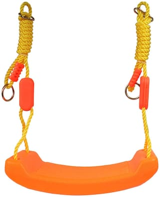 Planet of Toys Indoor Outdoor Easy To Set Up Swing Set For Kids, Children